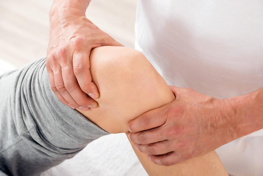 Knä fysioterapeut